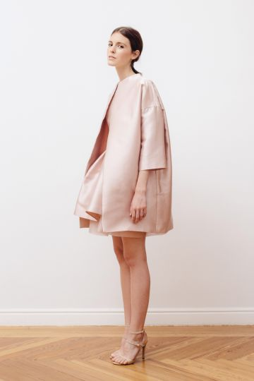 Mikado coat & dress