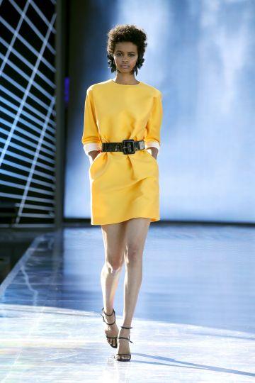 Straight mini dress