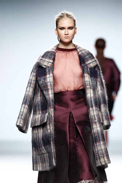 Oversize mohair coat