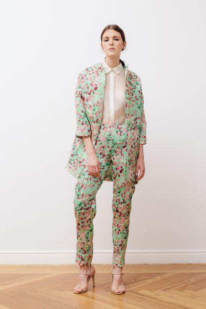 Gazar print coat