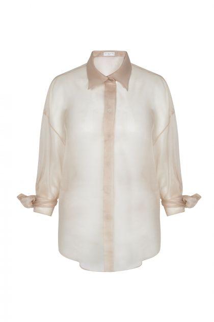 Camisa de organza