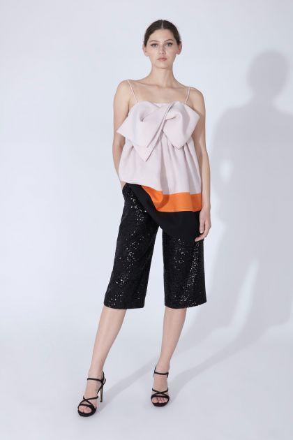 Top lino & pantalón