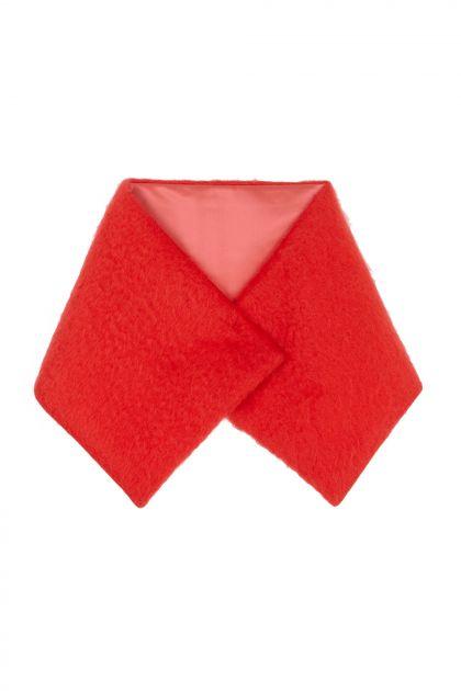 Chaqueta mohair roja