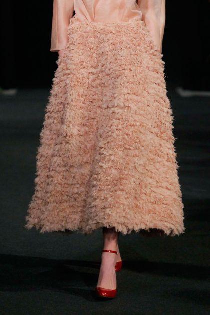 Falda de rizos