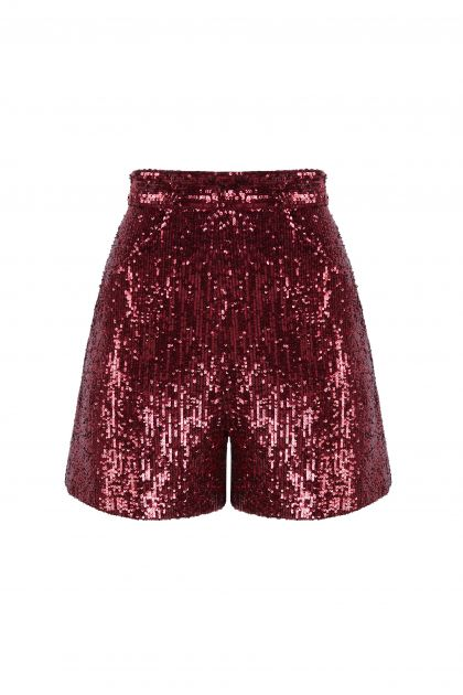 Shorts de paillettes