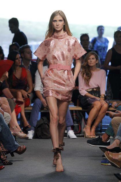 Short Fil Coupé Dress