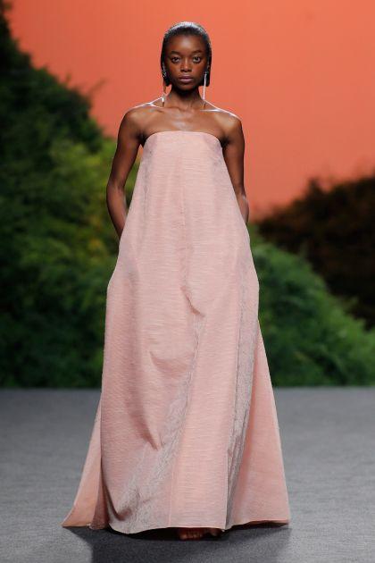 Vestido largo oversize