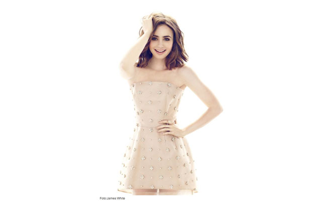 Lily Collins for YoDonna