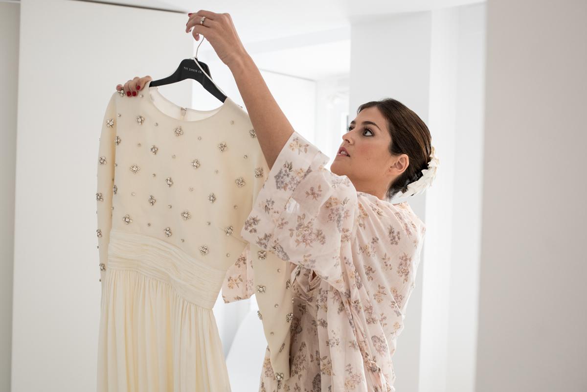 Creación del vestido de novia
